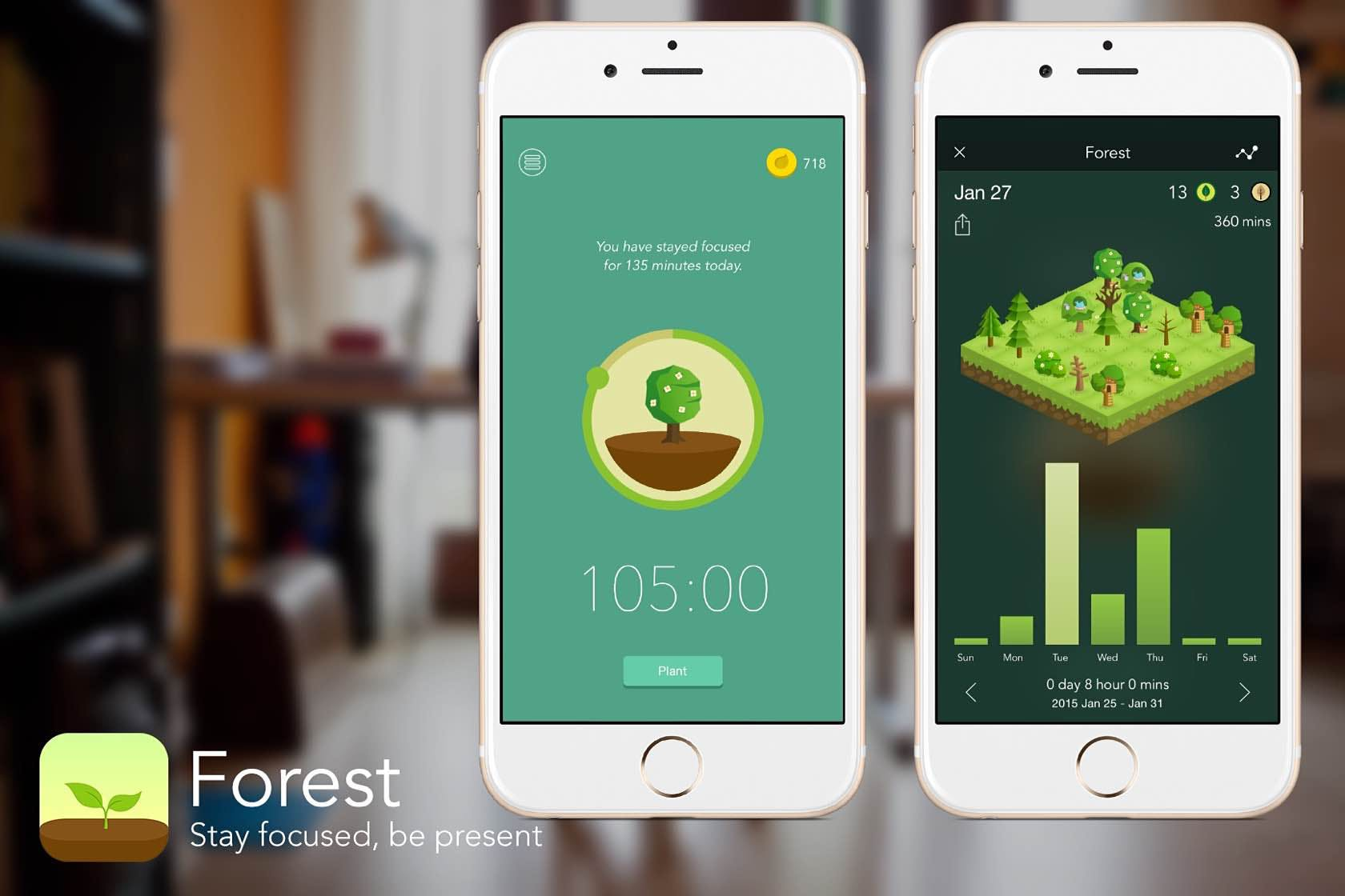 Forest Time Management App