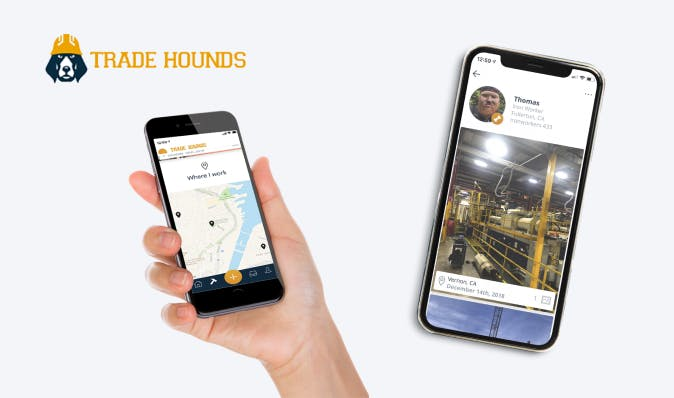 best apps for construction businesses - Trade Hounds