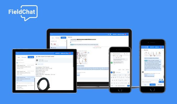Best Apps for Construction - FieldChat
