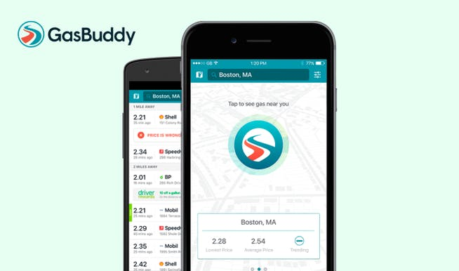 best apps for construction businesses - GasBuddy
