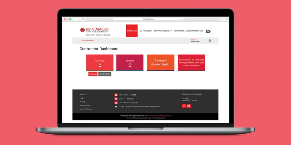 Construction Pro Manager Review - Document Control Software