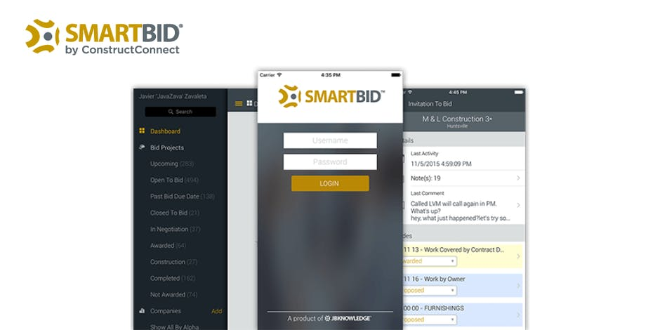SmartBid Review -  Construction Bid Software