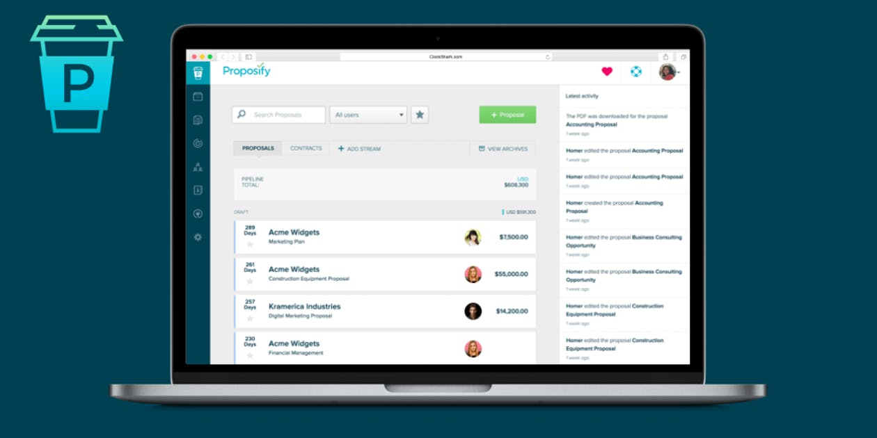 Proposify Review - Proposal Software