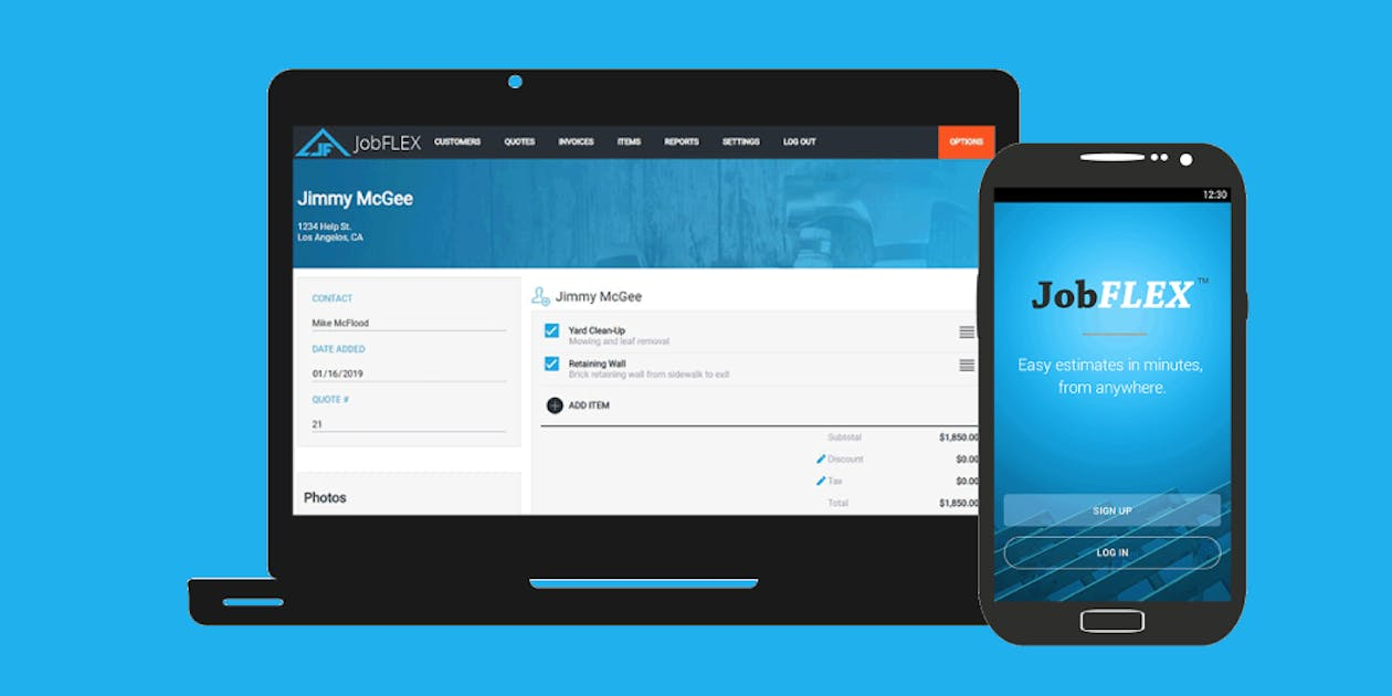 JobFlex Review: Invoicing & Estimating App for Construction