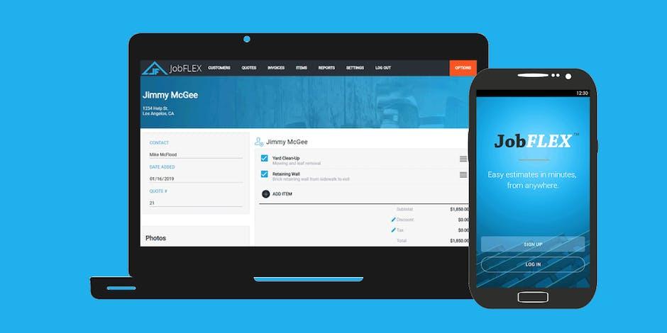 JobFlex Review: Invoicing & Estimating App for Construction