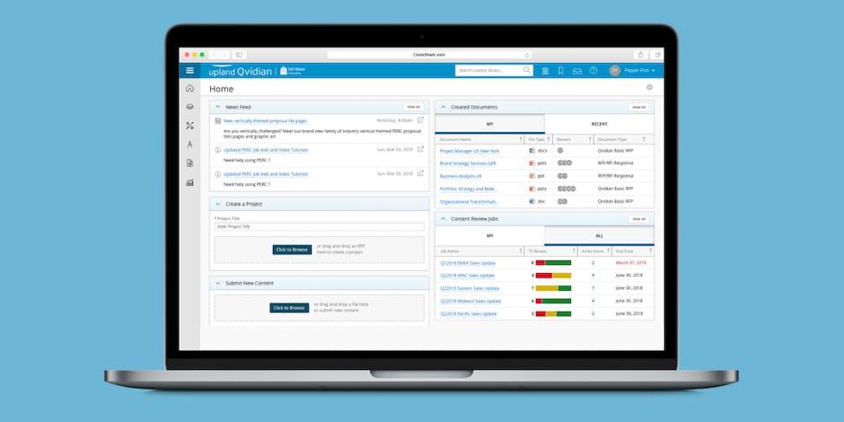 Qvidian Review - Proposal Management Software