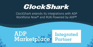 ClockShark Integrations: ADP Workforce Now® and RUN by ADP®