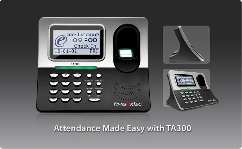 Fingertec TA300 – Fingerprint Time Clock Review
