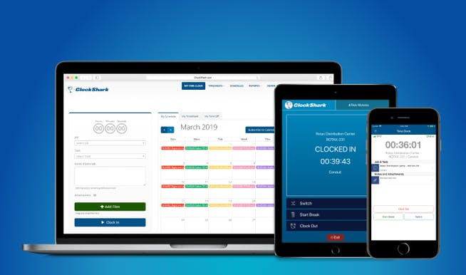ClockShark Time Tracking App
