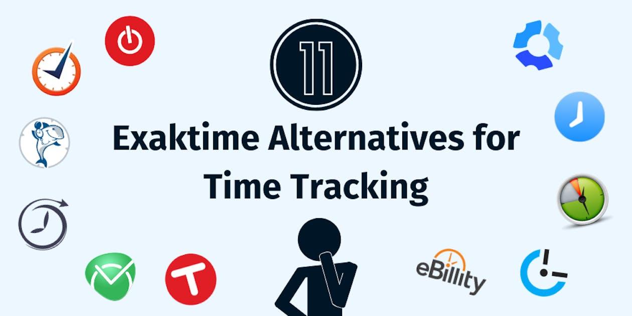 Exaktime Alternatives for Time Tracking