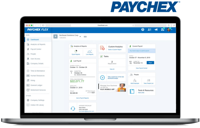 Paychex Integration