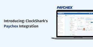 ClockShark's Paychex Integration