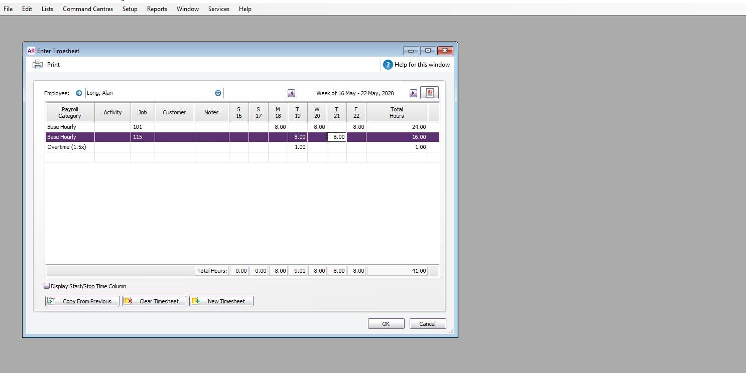 ClockShark and MYOB Integration