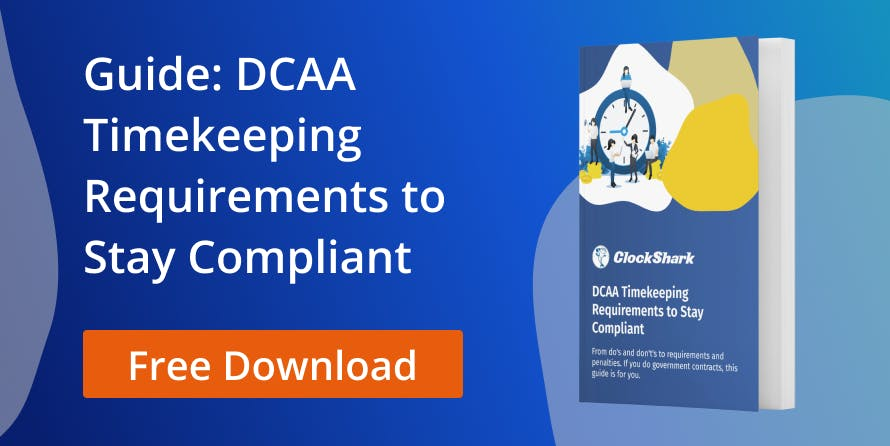 DCAA Timekeeping Requirements Guide