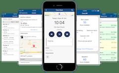ClockShark Mobile App