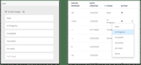 Job Management ClockShark