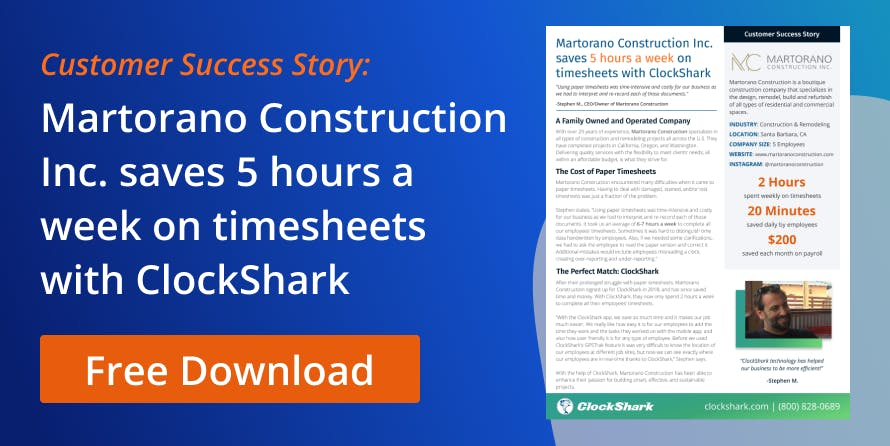 How companies save payroll time with ClockShark