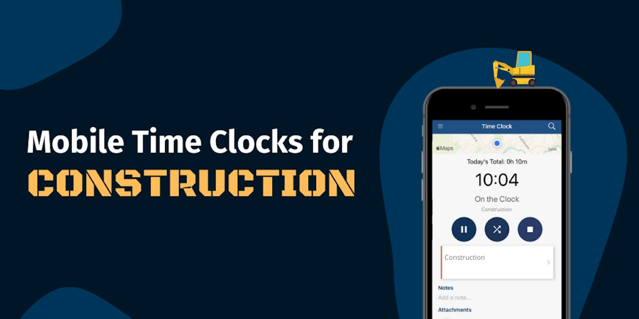 Mobile Time Clocks for Construction