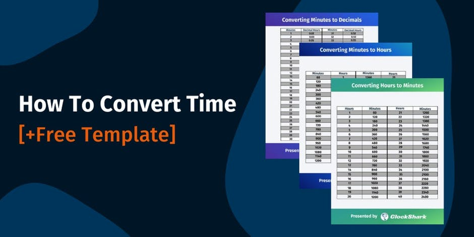 How To Convert Time