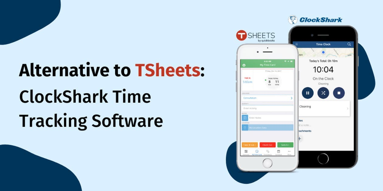 Alternative to TSheets: ClockShark Time Clock Software