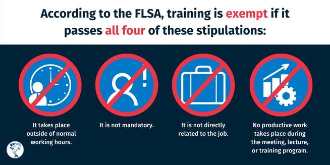 Fair Labor Standards Act (FLSA) training exemption