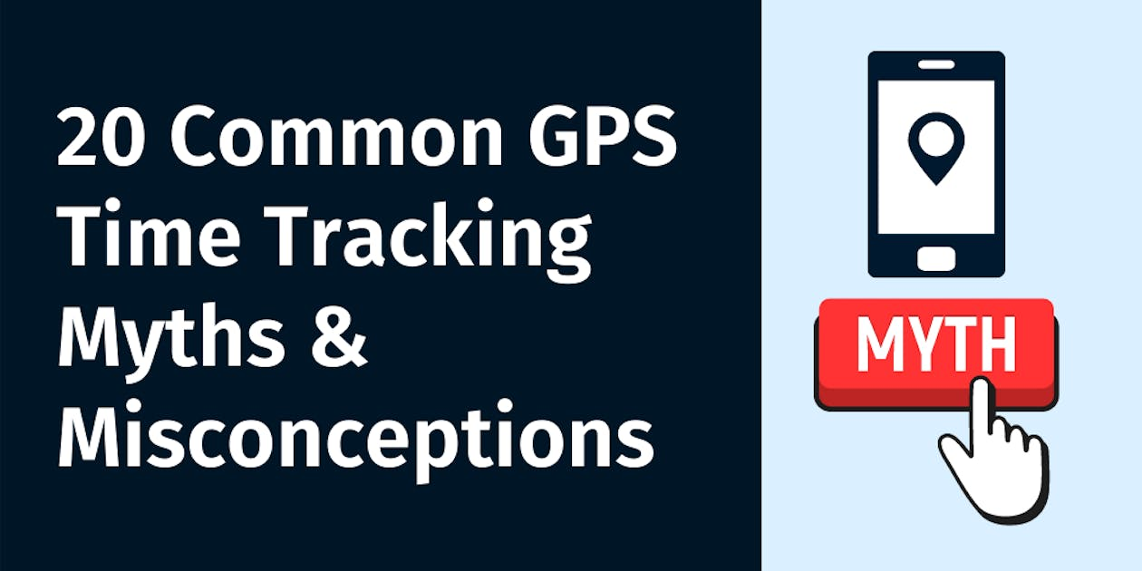 Common GPS Time Tracking Myths