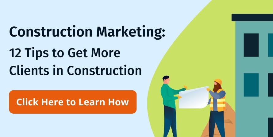 Tips tp get more clients in construction