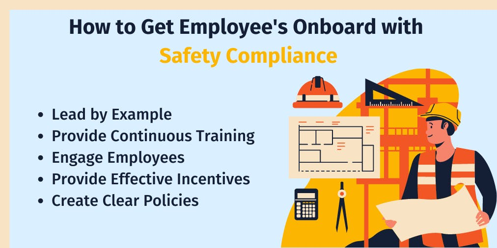 How to get employee's onboard with safety compliance
