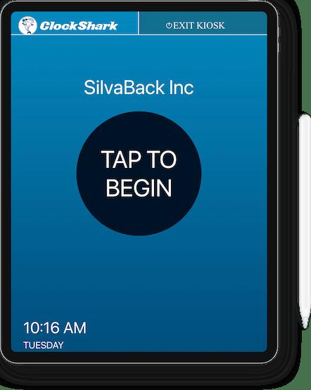 ClockShark KioskClock™ - Track Time Effortlessly on One Device