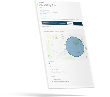 Geofencing - Give employees peace of mind (and less paperwork to manage)