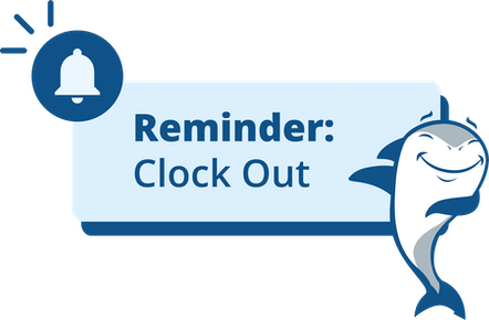 Geofencing - Remind employees to clock in or out on time