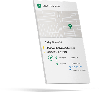 GPS Tracking - Record and retain a transparent proof of work for every job
