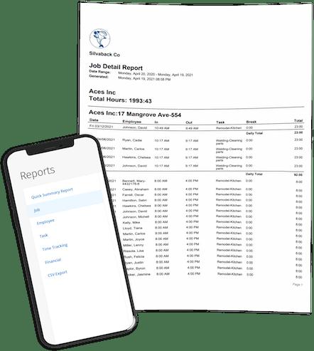 ClockShark Job Costing - Reports At Your Fingertips