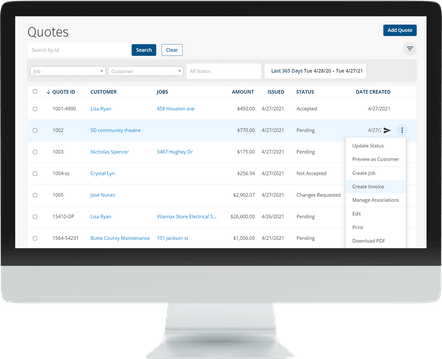 ClockShark Invoices - Never write another invoice by hand