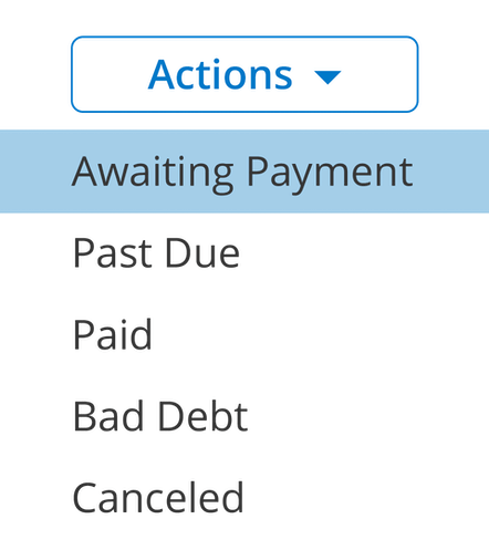 ClockShark Invoices - Always know who owes you what