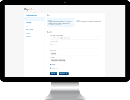 ClockShark Timesheet Reporting - Get a better picture of your business