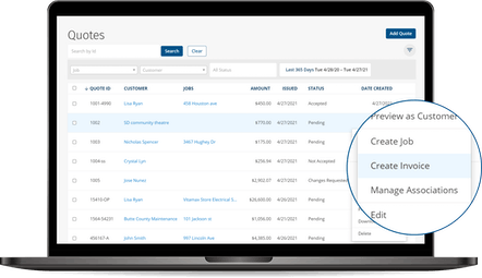 ClockShark Quotes - Invoice in an instant