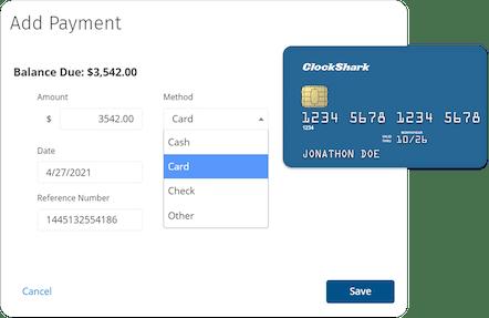 ClockShark Payments - Better cash flow for your business
