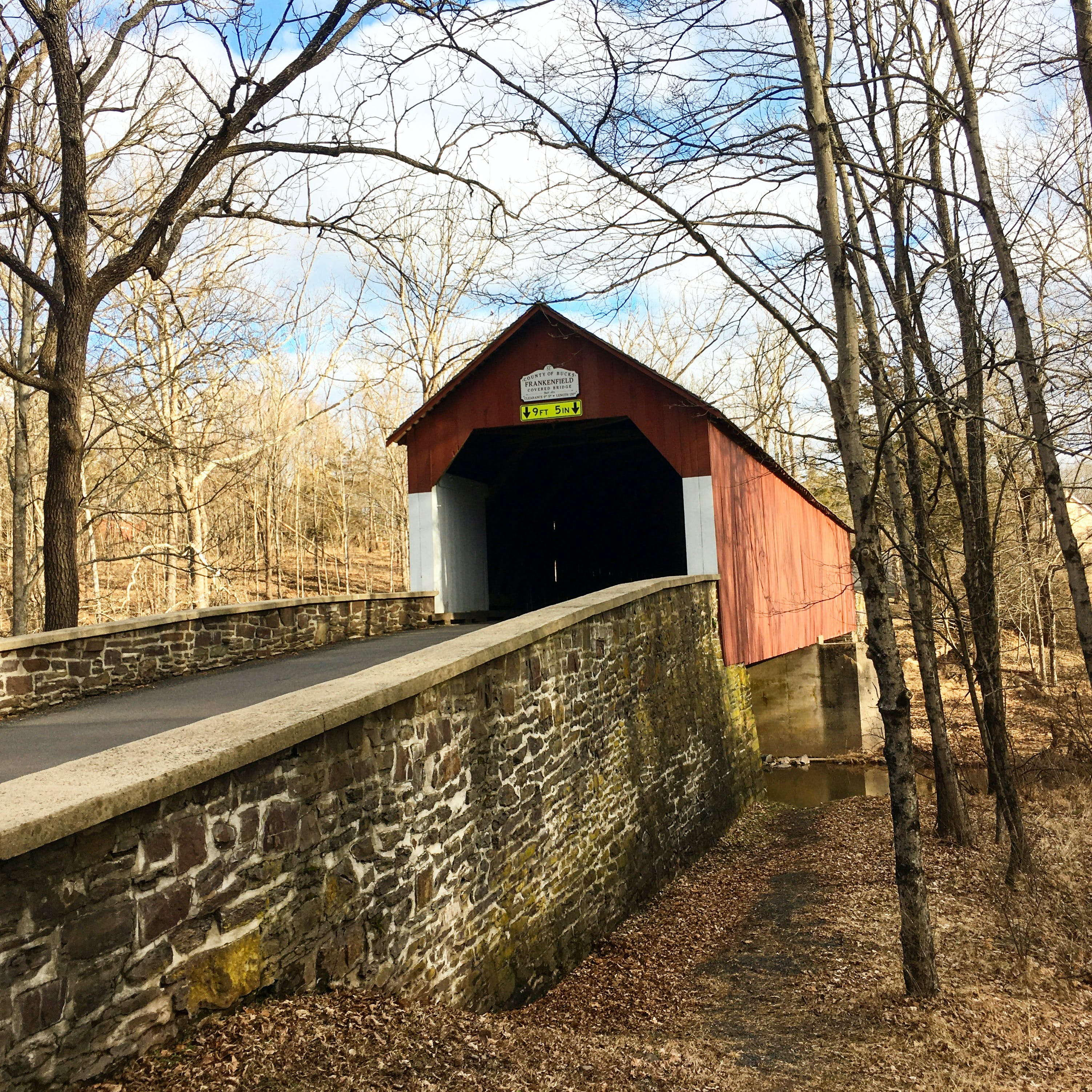 One of Bucks County, Pennslyvania Bridges