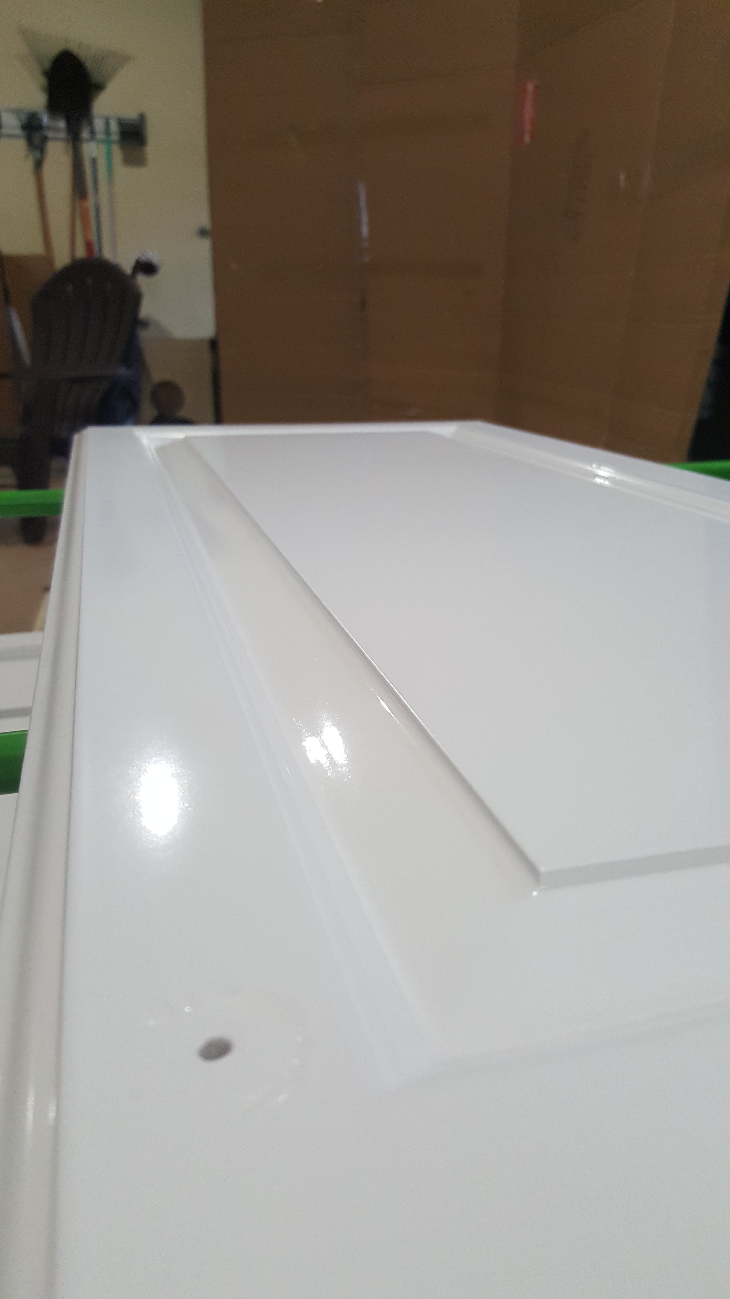 Refined Painting Services paints cabinets