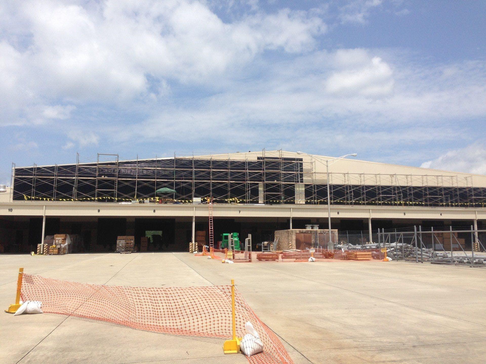 Stewart Group Enterprises LLC installing a structure