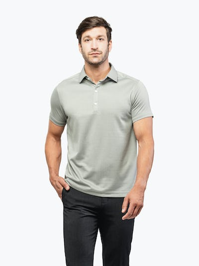 Apollo Polo Slate Grey