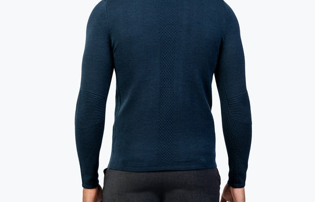 Men's Atlas Merino Full Zip - Navy - Image 7