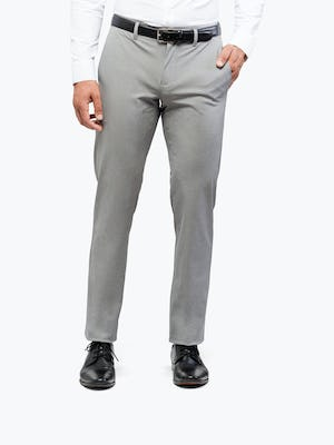 Men's Grey Heather Kinetic Pants on Model Facing forward