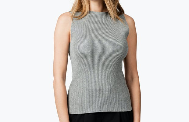 Model is 5'9, wearing a size Small.