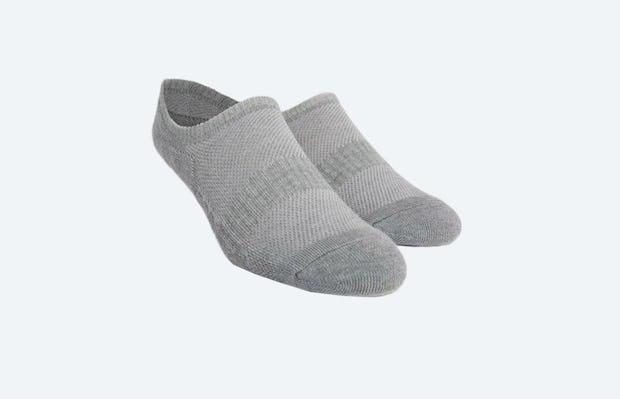 Grey Atlas No Show Socks