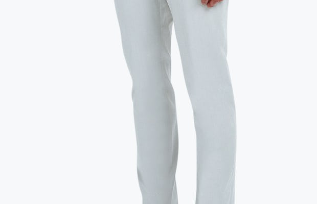 Men's Stone Momentum Chino on Model Facing Right