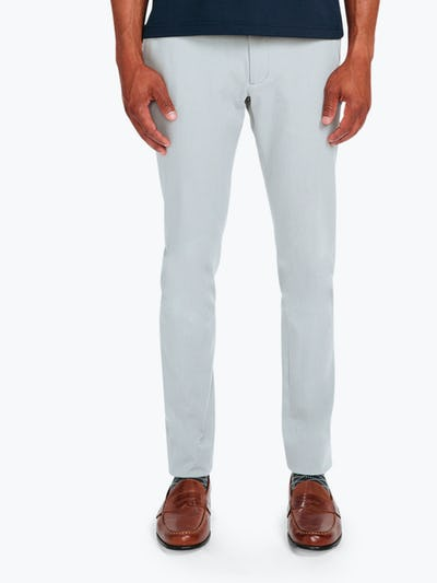 Men's Stone Momentum Chino on Model Facing Forward