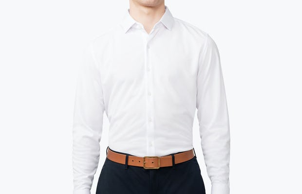 Men's Apollo Dress Shirt - White - Image 1