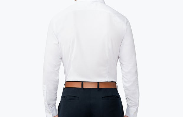 Men's Apollo Dress Shirt - White - Image 1 4